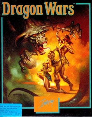 Dragon Wars DOS front cover