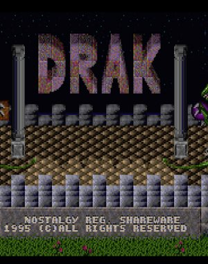 Drak DOS front cover