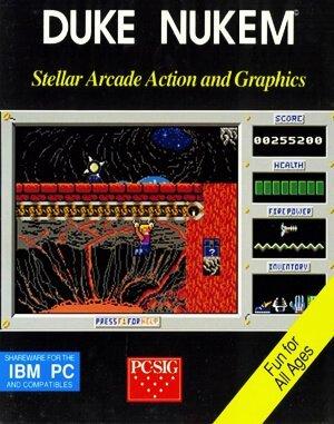 Duke Nukem: Episode 1 Shrapnel City DOS front cover