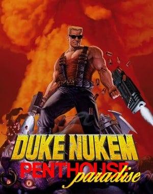 Duke Nukem's Penthouse Paradise DOS front cover