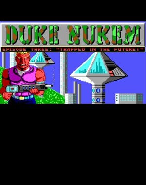 Duke Nukum: Episode 3 – Trapped in the Future DOS front cover