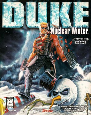 Duke: Nuclear Winter DOS front cover