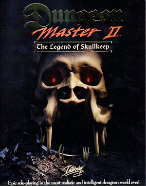 Dungeon Master II: The Legend of Skullkeep DOS front cover