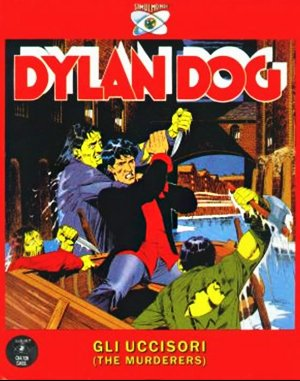 Dylan Dog: Murderers DOS front cover