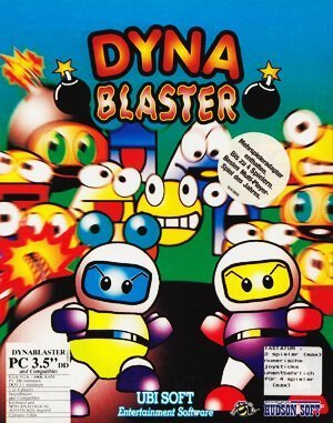 Dyna Blaster DOS front cover