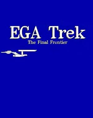 EGA Trek DOS front cover