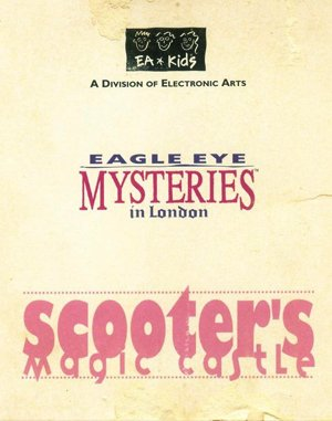 Eagle Eye Mysteries in London DOS front cover