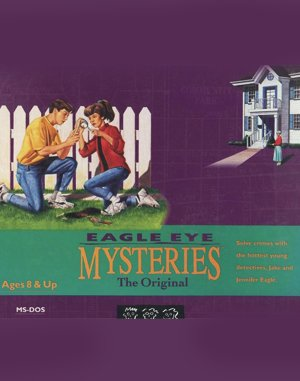Eagle Eye Mysteries DOS front cover