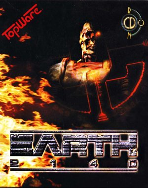 Earth 2140 DOS front cover