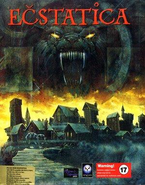 Ečstatica DOS front cover