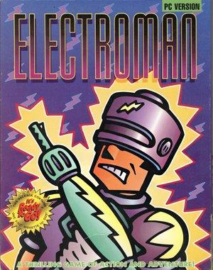 Electroman DOS front cover
