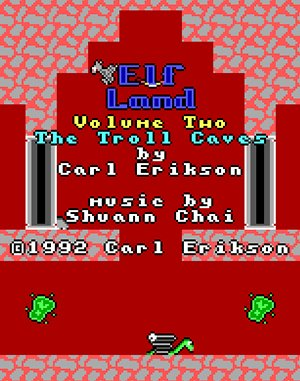 ElfLand: Volume Two – The Troll Caves DOS front cover