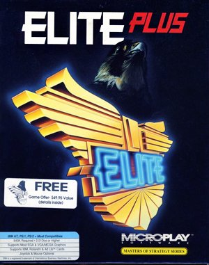 Elite Plus DOS front cover