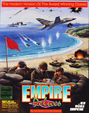 Empire Deluxe DOS front cover