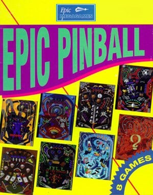 Epic Pinball DOS front cover