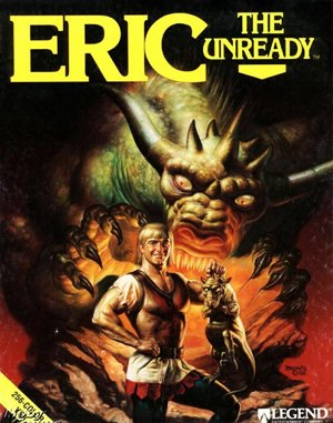 Eric the Unready DOS front cover