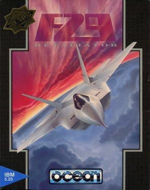 F29 Retaliator DOS front cover