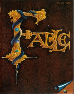 Fable (CD) DOS front cover