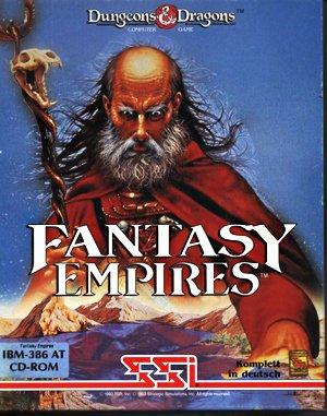Fantasy Empires DOS front cover