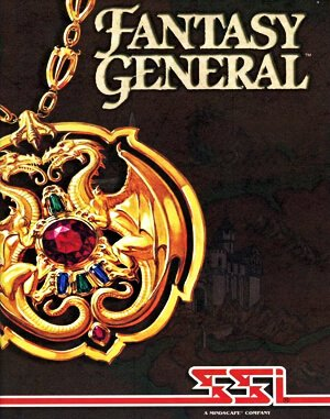 Fantasy General DOS front cover