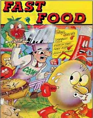 Fast Food DOS front cover