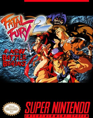 Fatal Fury 2 SNES front cover