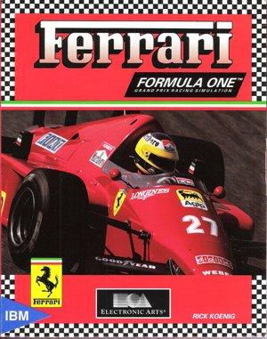 Ferrari Formula One DOS front cover