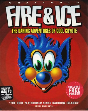 Fire & Ice DOS front cover