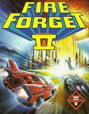 Fire and Forget 2: The Death Convoy DOS front cover
