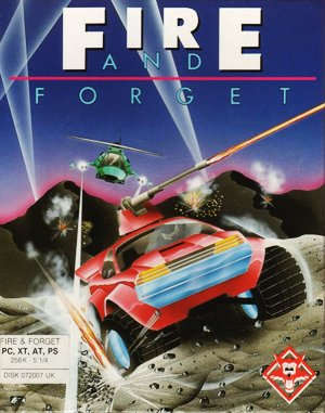 Fire and Forget DOS front cover