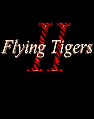 Flying Tigers II DOS front cover