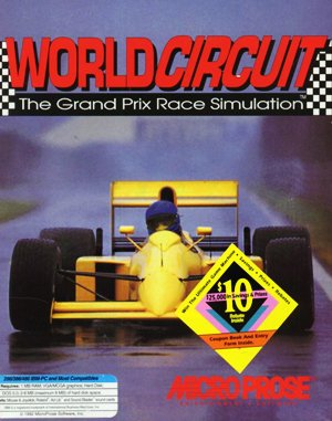Formula One Grand Prix DOS front cover