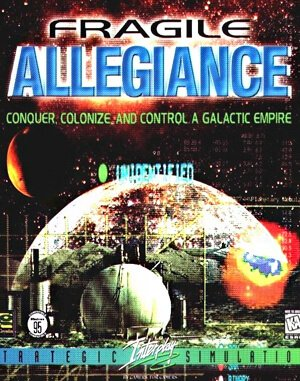 Fragile Alliance DOS front cover