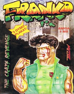 Franko: The Crazy Revenge DOS front cover