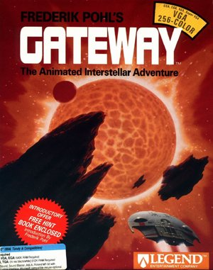 Frederik Pohls Gateway DOS front cover