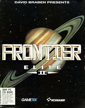 Frontier: Elite II DOS front cover