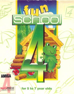 Fun School 4: For 5 to 7 Year Olds DOS front cover