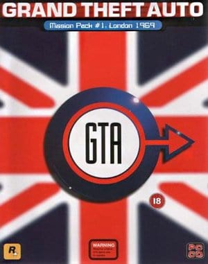 GTA: London 69 DOS front cover