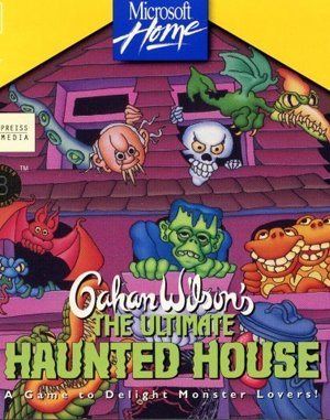 Gahan Wilson's The Ultimate Haunted House DOS front cover