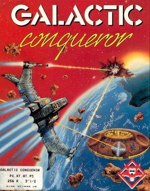 Galactic Conqueror DOS front cover