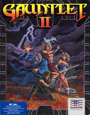 Gauntlet II DOS front cover