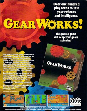 Gear Works DOS front cover