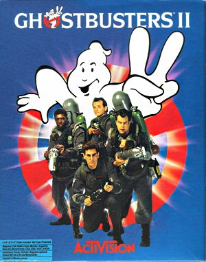 Ghostbusters II DOS front cover