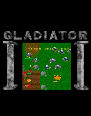 Gladiator DOS front cover