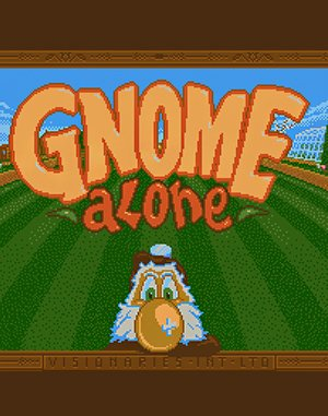Gnome Alone DOS front cover
