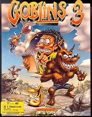 Goblins 3 DOS front cover