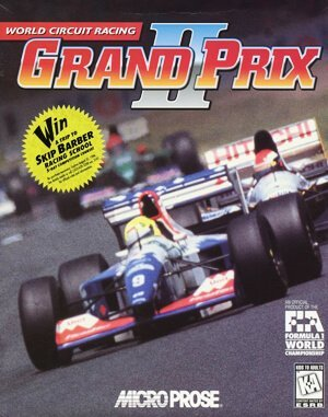 Grand Prix 2 DOS front cover