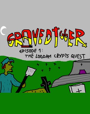 Gravedigger DOS front cover
