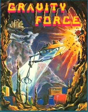 Gravity Force DOS front cover