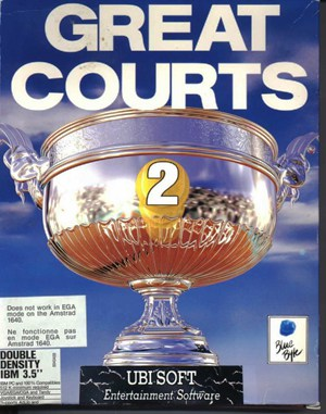 Great Courts 2 DOS front cover